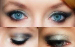 Makeup øjenskygge øjne
