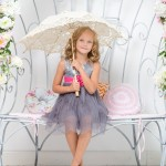 Brudepige med paraply